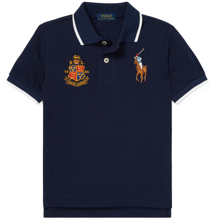 Polo Ralph Lauren Boy Short Sleeved Navy