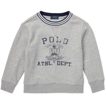 Polo Ralph Lauren Boy Sweater Grey Adover Heather