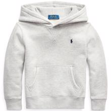 Polo Ralph Lauren Boy Hoodie Light Grey Heather