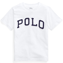 Polo Ralph Lauren Boy Short Sleeved T-shirt Polo White