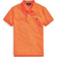 Polo Ralph Lauren Boy Short Sleeved Polo Bright Orange