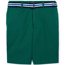 Polo Ralph Lauren Boy Shorts Belted Kelly Green