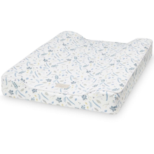 Cam Cam Changing Cushion Pressed Leaves Blue