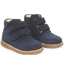 Angulus First Step Boots w. Velcro Navy 3323-101-2197