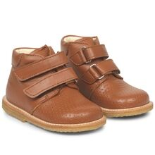 Angulus First Step Boots w. Velcro Cognac 3323-101-1431