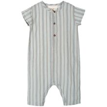 Serendipity Shade Stripe Baby Button Suit