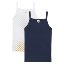 30312a3d4ff Petit Bateau Lot 2 Chemises Underwear Pink White