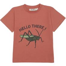 Soft Gallery Baked Clay Grasshopper Asger T-shirt