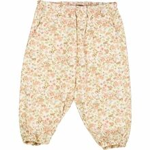 Wheat Eggshell Flowers Malou Trousers