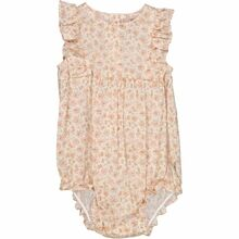 Wheat Birch Flowers Emmaline Romper