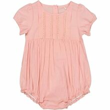 Wheat Misty Rose Flowers Victoria Romper
