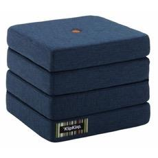 KK 4 Fold Dark Blue w. Orange Buttons