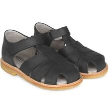 Angulus Sandal w. Closed Toe Black