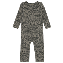 Soft Gallery AOP Owl Vetiver Bodysuit