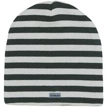 Racing Kids Beanie Windproof 2-lags Forest Green/Offwhite