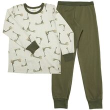 Joha Cotton Olive AOP Pyjamas