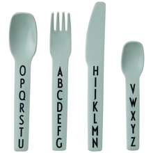 Design Letters ABC Cutlery Green