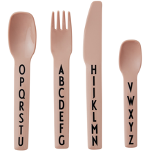 Design Letters ABC Cutlery Nude