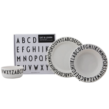Design Letters ABC Tableware Set 3 Pieces