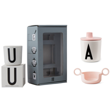 Design Letters ABC Grow With Your Cup Pink
