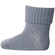 MP Wool Socks Rib 109 Steel