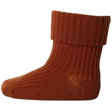 MP Wool Socks Rib 83127 Spicy Pumpkin