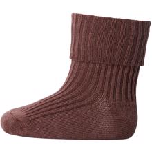 MP Wool Socks Rib 76 Taupe