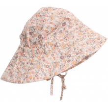 Wheat Eggshell Baby Girl Sun Cap