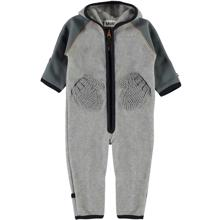 Molo Grey Melange Udo Fleece Suit