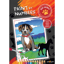 Faber Castell Paint By Numbers Baby Animals