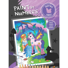 Faber Castell Paint By Numbers Fairytale Forest