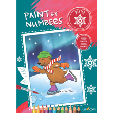 Faber Castell Paint By Numbers Winter