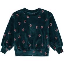 Soft Gallery Winterberry Deep Teal Elvira Sweatshirt