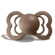 Bibs Supreme Silicone Pacifier Dark Oak