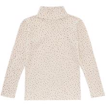 Soft Gallery Trio Dotties Tapioca Ena Turtleneck