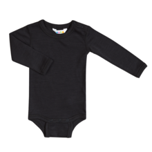 Joha Body Wool/Silk LS Black