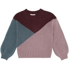Soft Gallery Tricolor Essy Knit