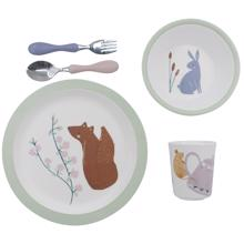 Sebra Daydream Dinner Set Melamin 5 Pieces