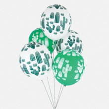 My Little Day Cactus Balloon 5 PCS