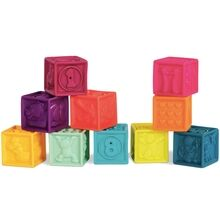 B-toys One Two - Soft Blocks Mint