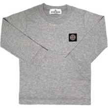 Stone Island Junior Blouse Thin Grey