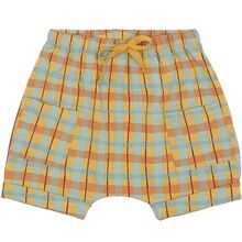 Soft Gallery Narcissus AOP Check Flair Shorts