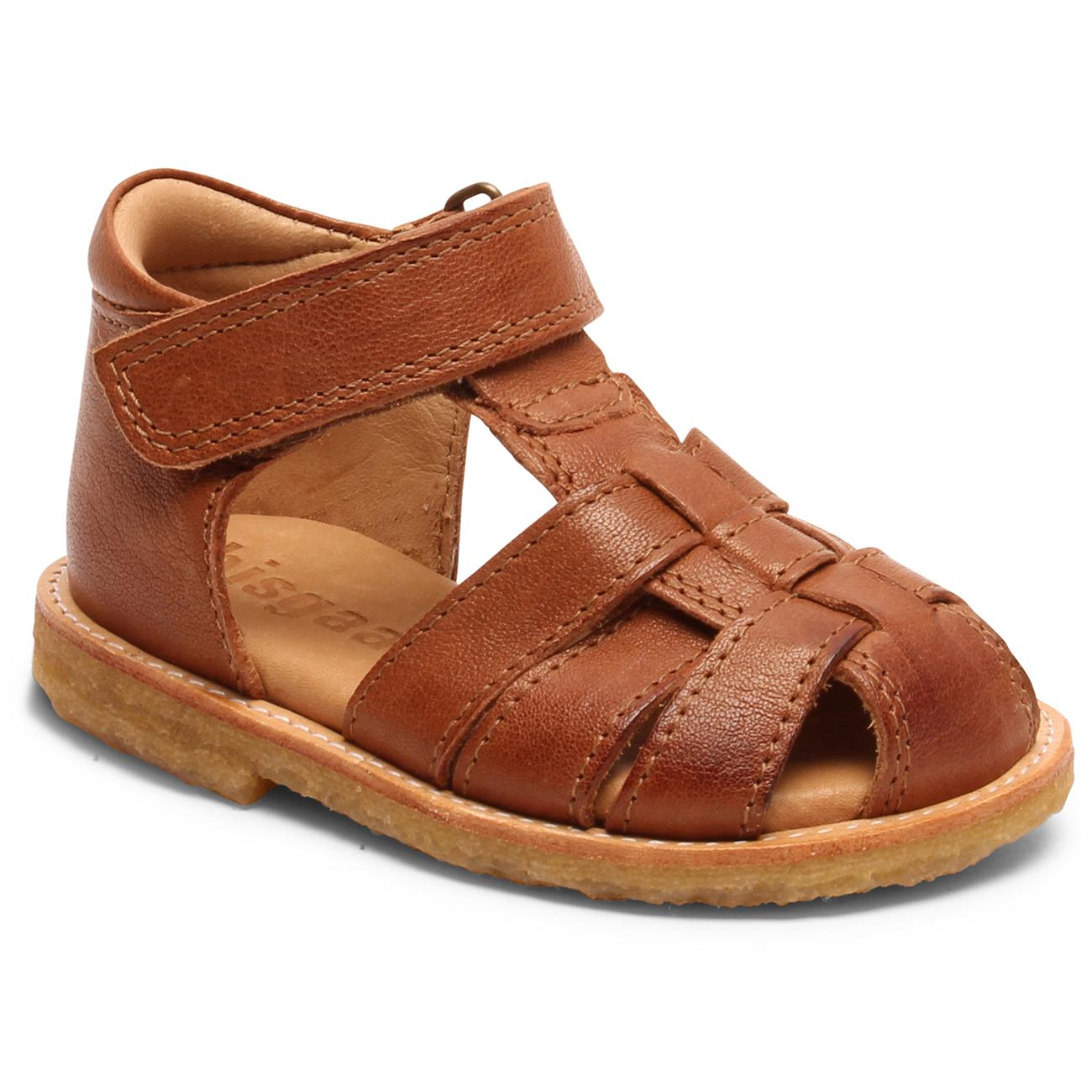 7fe5077d7d2e Bisgaard Sandal Natural Crepe Rubber Cognac