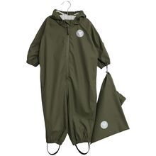 Wheat Mika Rainsuit Olive