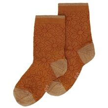 Soft Gallery Thai Curry Broderie Anglaise Socks