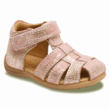 Bisgaard Classic Sandal w. Velcro Rose