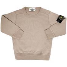 Stone Island Junior Sweatshirt Dark Beige
