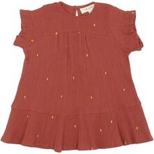 Soft Gallery Cinnabar AOP Dotty Emb. Fianna Dress