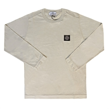 Stone Island Junior T-shirt LS Light Beige