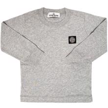 Stone Island Junior Blouse Light Grey Melange